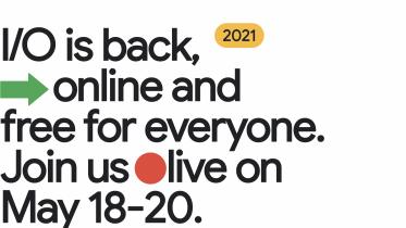 Google inviterer til I/O 2021 18. maj