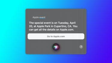 Siri afslører Apple-event på tirsdag – Airtags og iPad Pro?