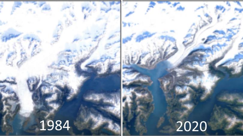 Google Earth viser Jordens forandringer gennem 37 år