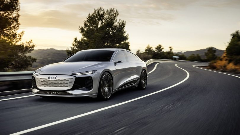 Audi viser fremtidens sedan med A6 E-Tron-koncept