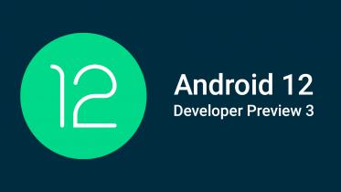 Android 12 Developer Preview 3: Store ændringer af designet