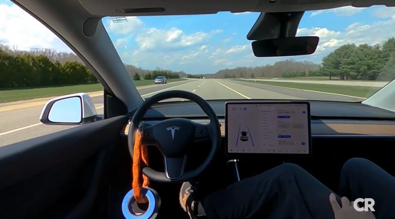Tesla selvkørende uden fører