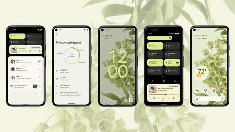 De første test af Android 12 – fokus på design