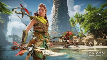 PlayStation 5 viser kræfter i gameplay fra Horizon Forbidden West