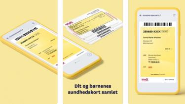 Sundhedskort: Få det gule sygesikringskort som app