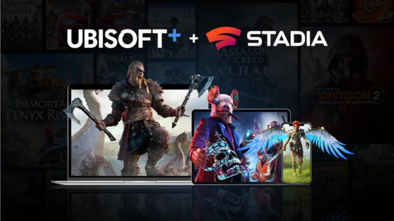 Abonnementstjenesten Ubisoft+ kommer til Stadia