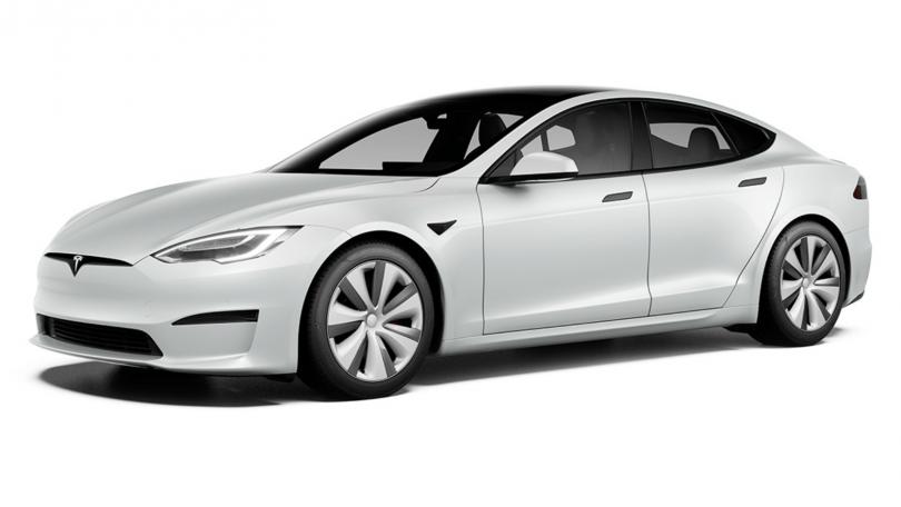 Tesla dropper Model S Plaid+ topmodel