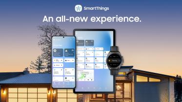 Samsung introducerer ny brugeroplevelse i appen SmartThings