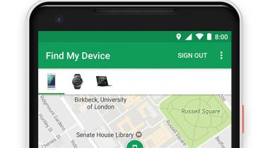 """Google arbejder på Apple-lignende """"Find min telefon""""-netværk"""
