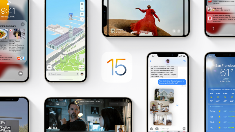 iOS 15 klar til download den 20. september