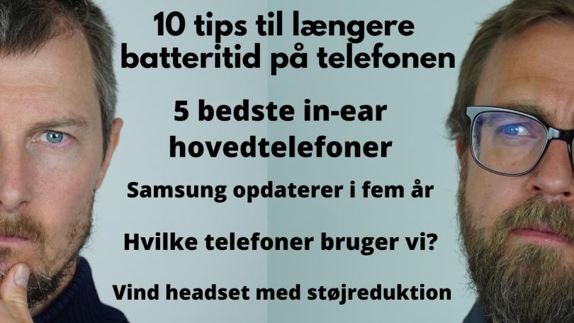 10 tips, som giver din telefon længere batteritid