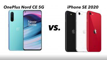 OnePlus Nord CE 5G eller iPhone SE 2020? Denne skal du vælge