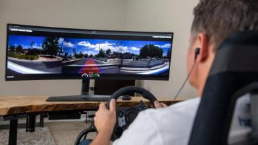 Førerløse biler tilkaldes og styres via fjernoperatør i Las Vegas