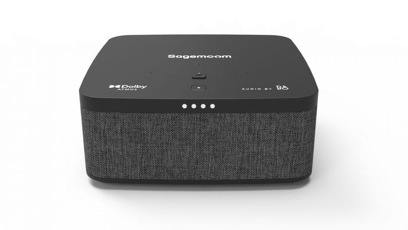 B&O sørger for god lyd og Dolby Atmos i Sagemcom Video Soundbox