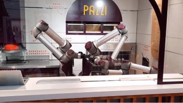 Få din pizza bagt af robotter i Paris