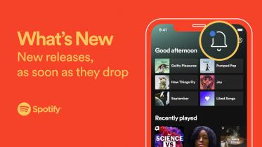 Nu kan du nemmere følge artister og podcasts i Spotify