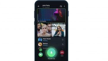 Telegram opgraderer videosamtale så op til 1.000 personer kan se med