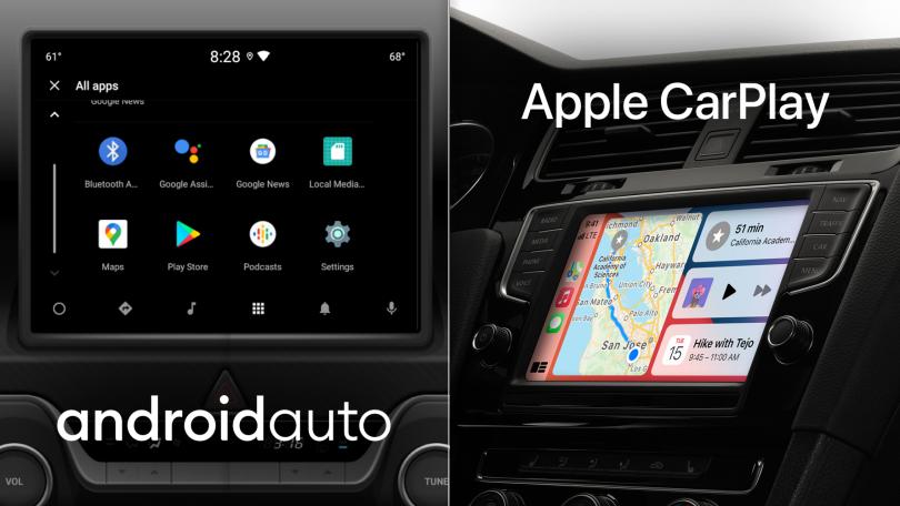Apple CarPlay eller Android Auto – hvad er bedst?