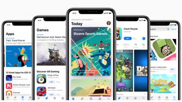 Der er brugt 261 mia. kroner i Apples App Store i første halvår