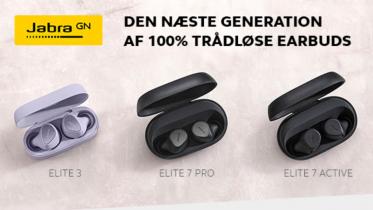 Jabra Elite 7 og Elite 3 earbuds – specifikationer og priser