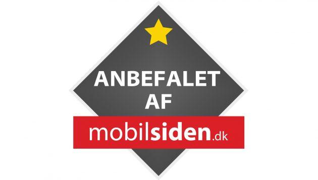 Anbefalet af Mobilsiden.dk