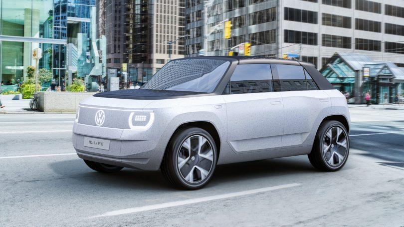 VW ID.Life har indbygget spillekonsol og 34″ skærm