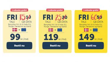 duka tilføjer mere data i abonnementer og giver to måneder gratis