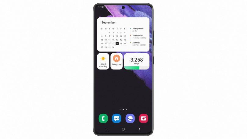 Samsung Galaxy S21 får Android 12 beta