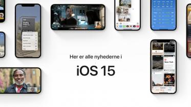 Hvad er nyt i iOS 15? Se alle nyhederne her
