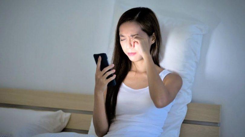 Har du oplevet synsforstyrrelser ved brug af din telefon?