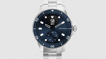 ScanWatch Horizon: smartwatch, som ligner et dykkerur