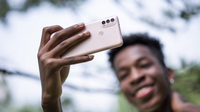 Den nye budgetmobil Motorola Moto e40 overrasker