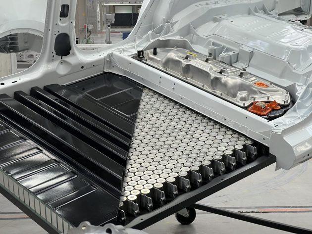 Tesla 4680 batteri