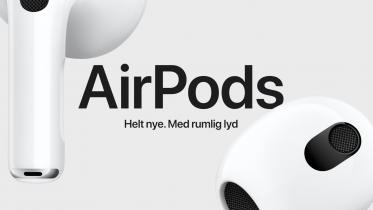 AirPods 3 – bedre batteri og ingen ANC til billigere pris