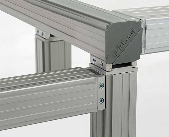 Quick-Set universal, modular framing system