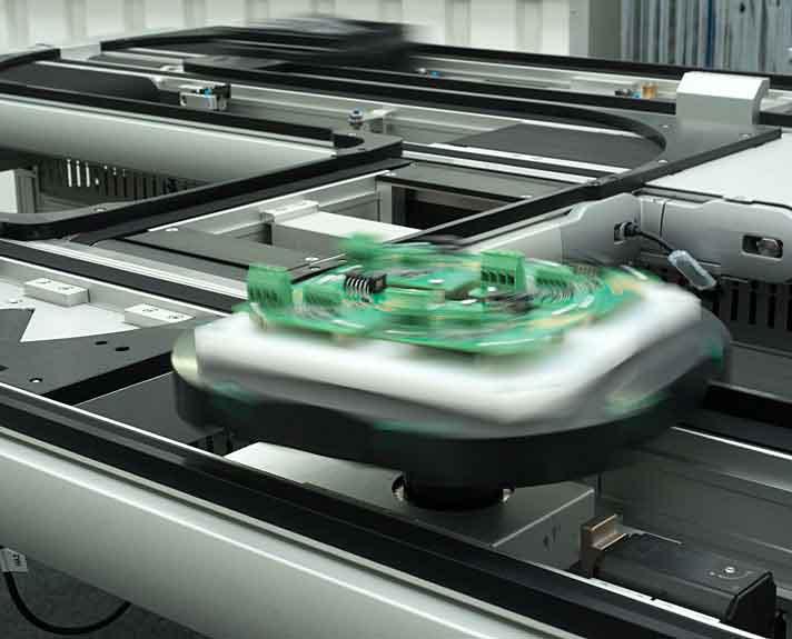 Transfer System Montech Conveyors Corp.