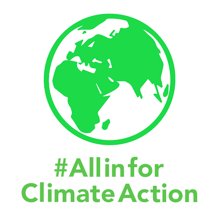#AllinforClimateAction
