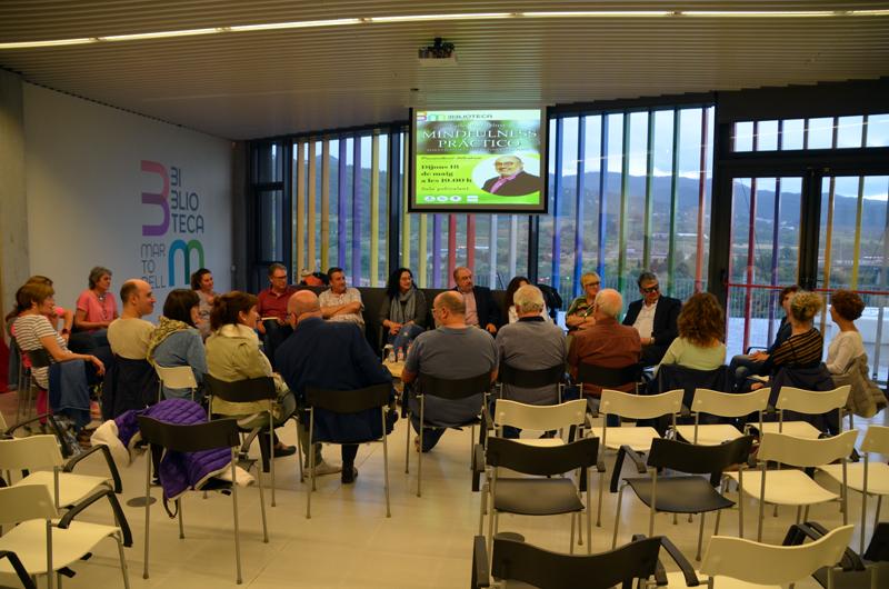 Presentació de 'Mindfulness práctico', de Carles Ruiz