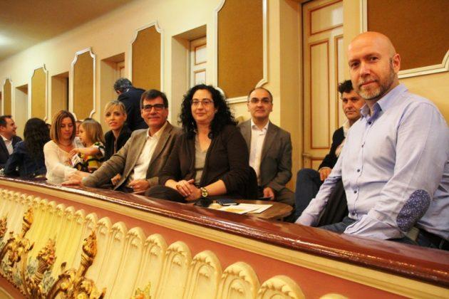 22è Festival de l'Arc de Sant Martí a El Progrés. L'alcalde Xavier Fonollosa i regidors de l'equip de govern
