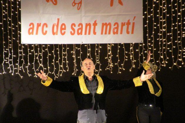 22è Festival de l'Arc de Sant Martí a El Progrés. El director artístic Beni Martos