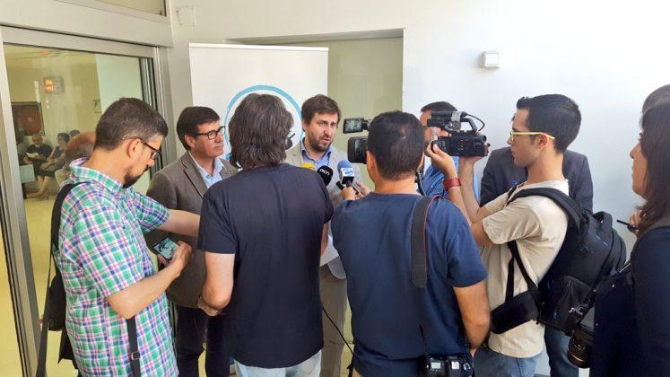 Visita Antoni Comín, conseller de Salut