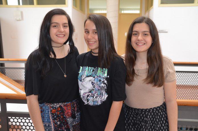 Marina Molina, Anna Arias i Adriana Molina