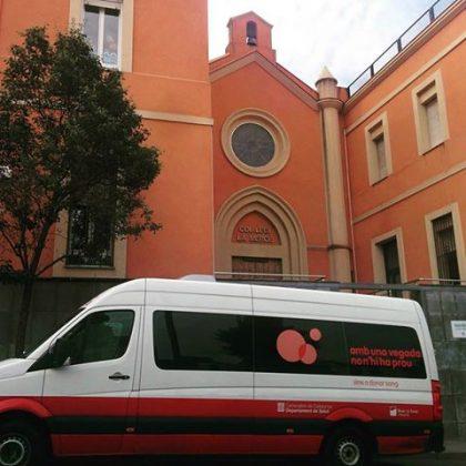 Campanya donació de sang a La Mercè