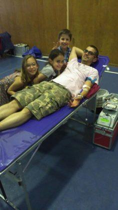 Donació de sang a La Mercè