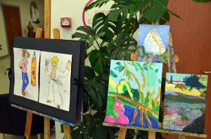 Exposició a El Círcol. Final de curs de l'Escola Municipal d'Art
