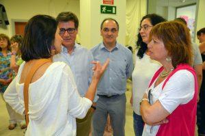 Carme Bueno, Xavier Fonollosa, Lluís Amat, Míriam Riera i Núria Canal