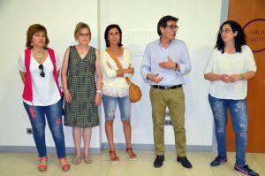 Núria Canal, Mercè Mauri, Carme Bueno, Xavier Fonollosa i Míriam Riera