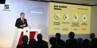 Luca de Mea, president SEAT #SEATbuscaNombre