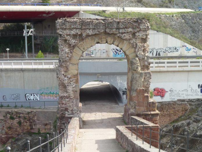 Arc romà pont del Diable. Foto: Diputació de Barcelona
