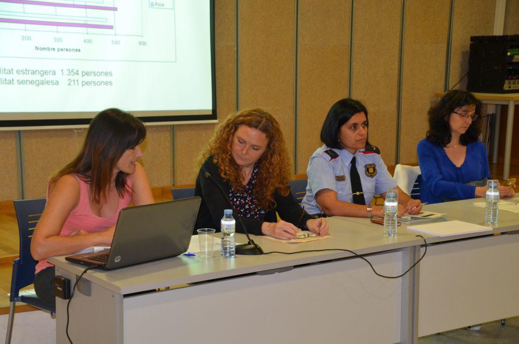 Mercè Puigdelliura, Marta Clar, Marta Ventas i Montserrat Solé